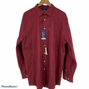 Stafford Regular Long Sleeve Button Front Shirt